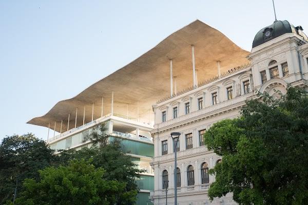 Popular tourist site Museu de Arte do Rio in Rio de Janeiro