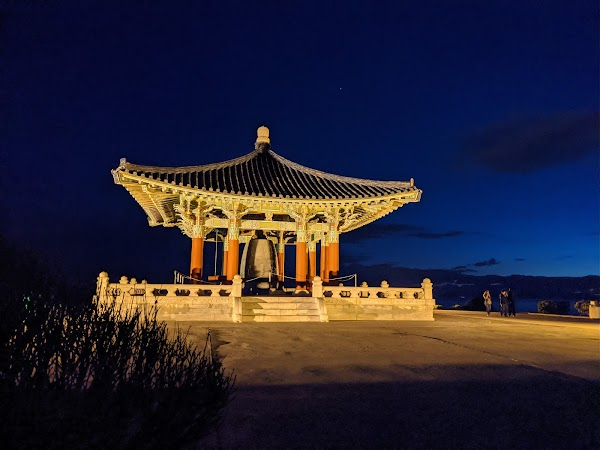Popular tourist site Korean Friendship Bell in Los Angeles