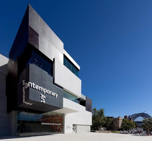 Popular tourist site Museum of Contemporary Art Australia in Sydney