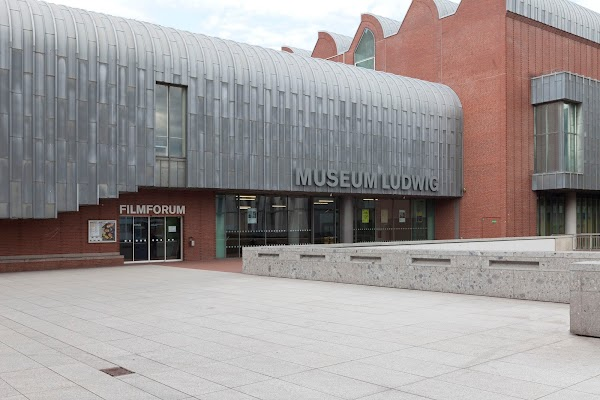 Popular tourist site Museum Ludwig in Cologne