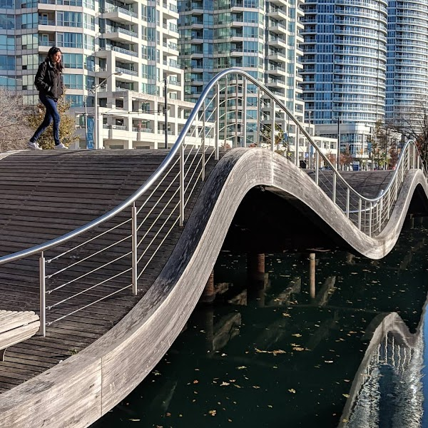 Popular tourist site Simcoe WaveDeck in Toronto