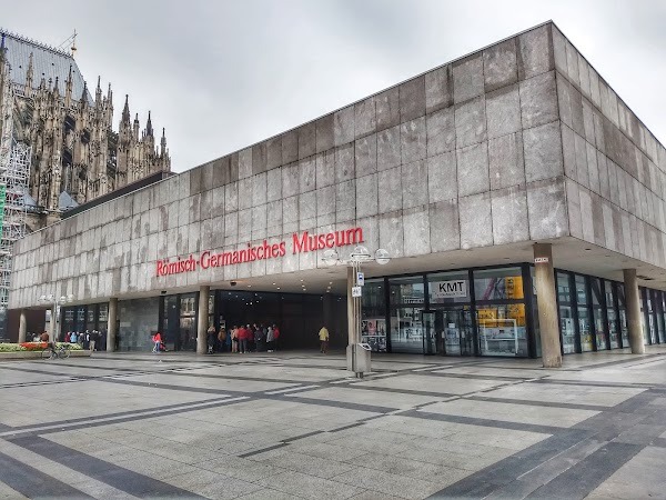 Popular tourist site Roman-Germanic Museum in Cologne