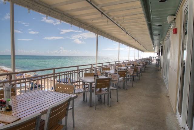 Beach Bar at Newport Pier
