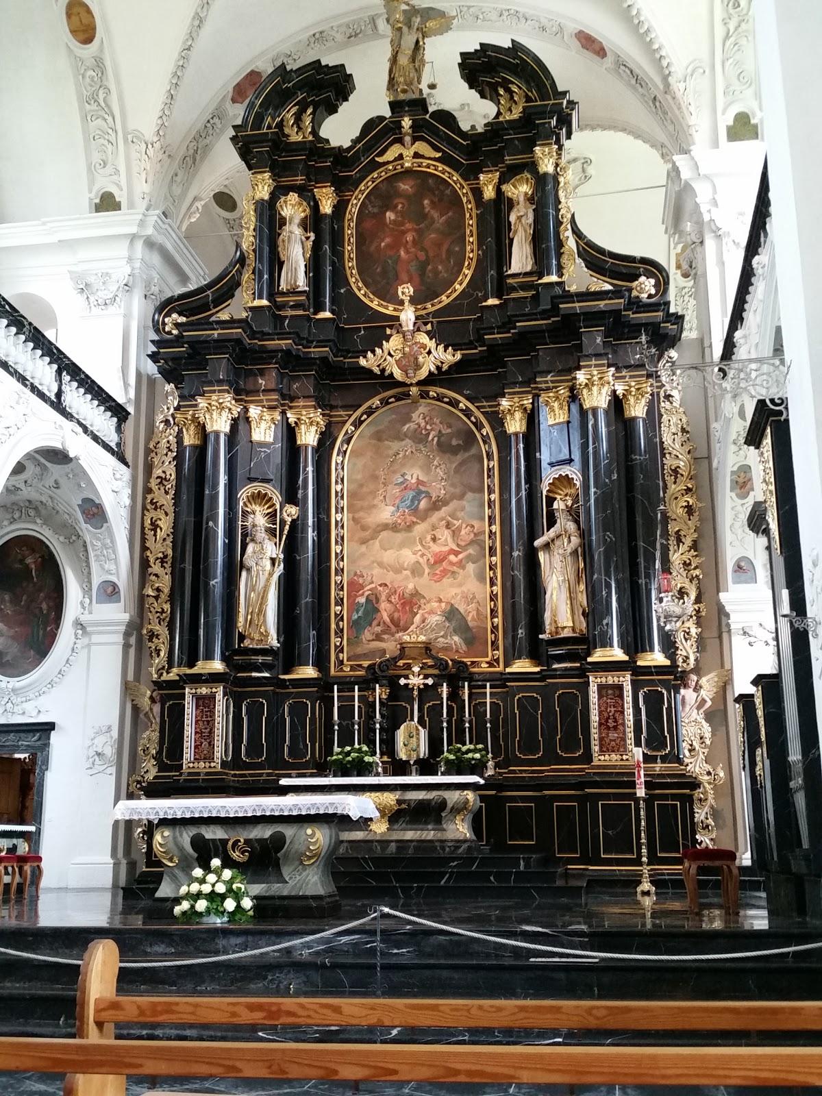 Pfäfers Monastery Church