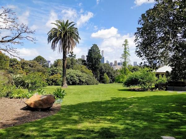 Popular tourist site Royal Botanic Gardens Victoria - Melbour in Melbourne