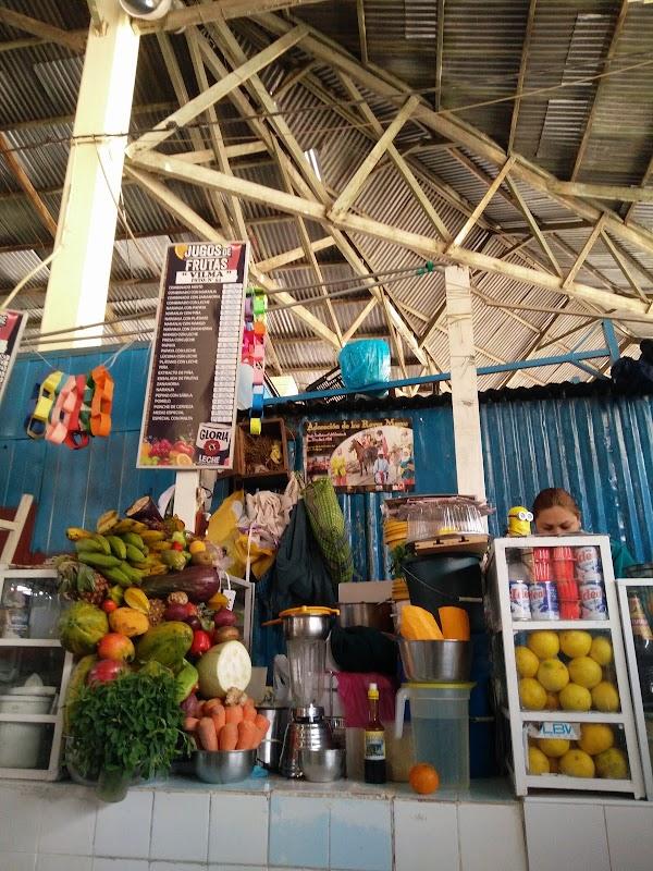 Popular tourist site San Pedro Market in Cusco