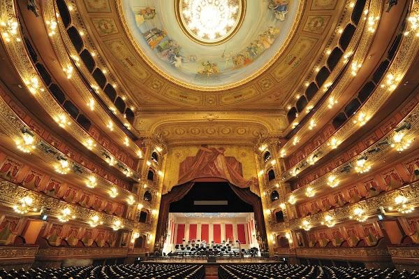 Popular tourist site Teatro Colón in Buenos Aires