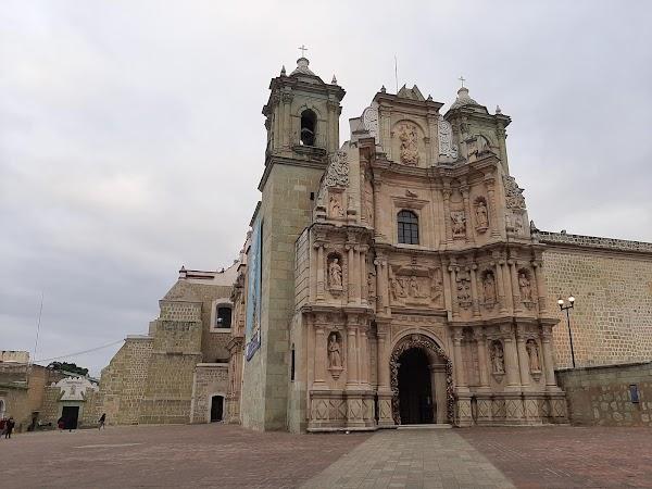 Popular tourist site Basílica de Nuestra Señora de la Soledad in Oaxaca