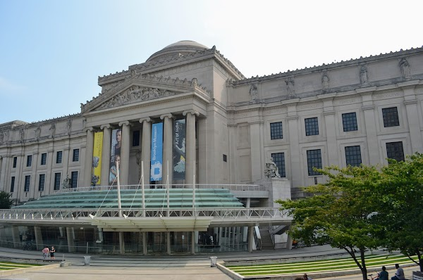 Popular tourist site Brooklyn Museum in Brooklyn