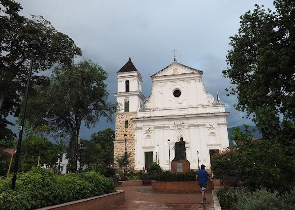 Popular tourist site Metropolitan Cathedral Basilica of the I in Santa Fe de Antioquia