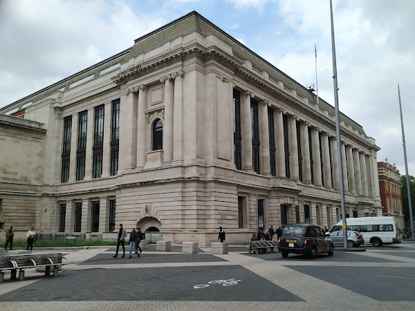 Popular tourist site Science Museum in London