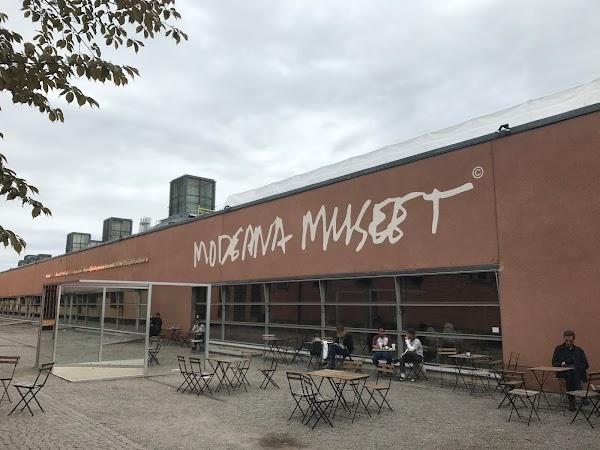 Popular tourist site Moderna Museet in Stockholm
