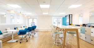 CLUE ME - Aménagement Bureaux, Travaux, Rénovation et Mobilier - Locaux professionnels, Open space - FLEX OFFICE