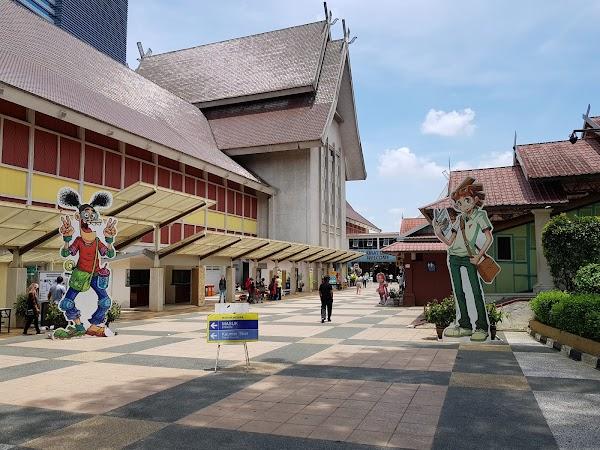 Popular tourist site National Museum of Malaysia in Kuala Lumpur