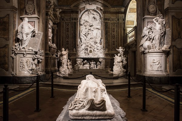 Popular tourist site Museo Cappella Sansevero in Naples