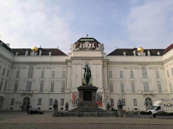 Popular tourist site Prunksaal der Österreichischen Nationalb in Vienna