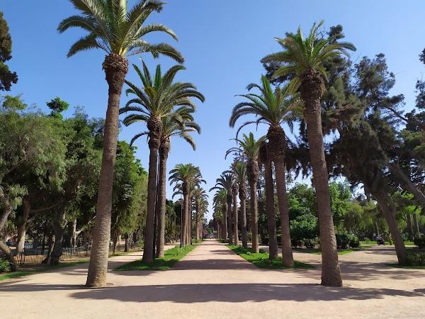 Popular tourist site Parc Murdoch in Casablanca