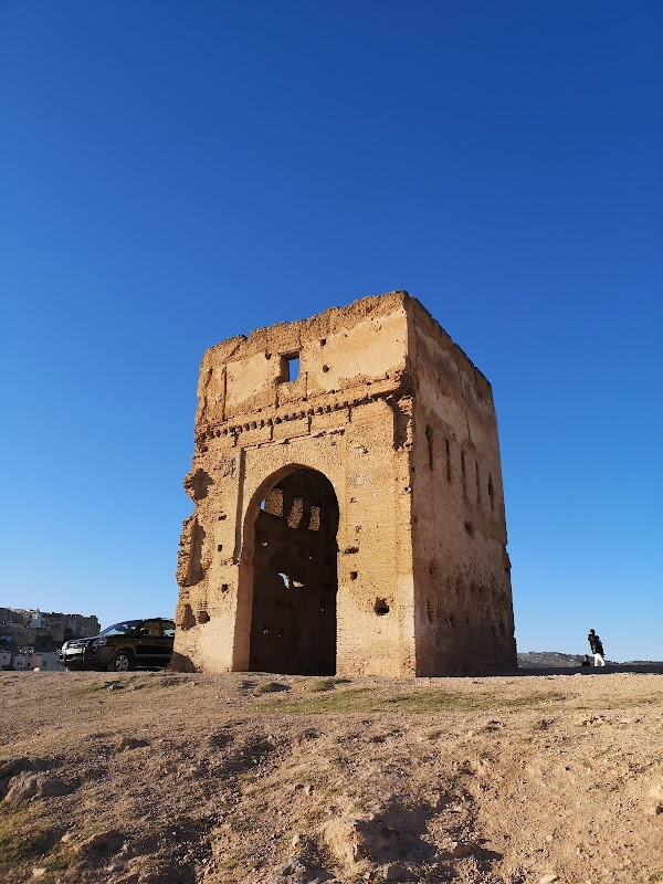 Popular tourist site Marinid Tombs in Fez