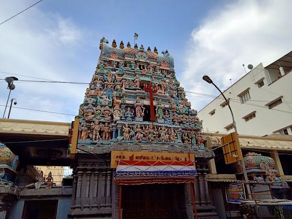 Popular tourist site Sri Kaalikambal Temple in Chennai