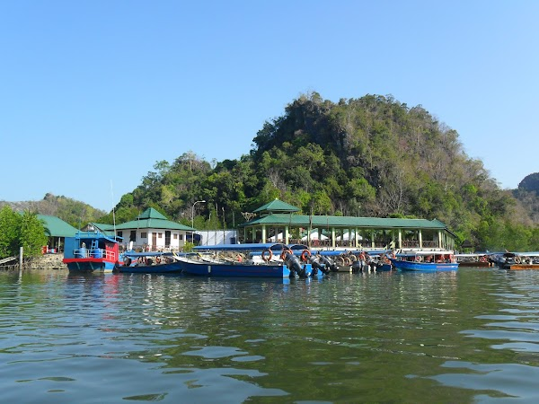 Popular tourist site Kilim Geoforest Park in Langkawi