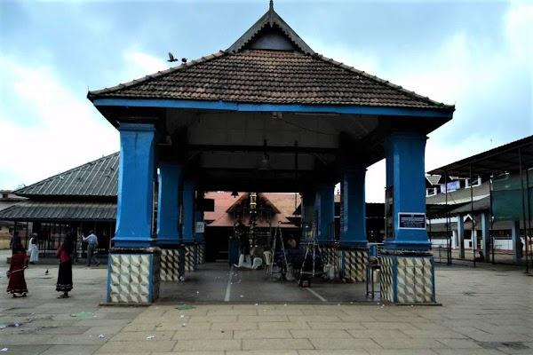 Popular tourist site Chottanikkara Devi Temple in Cochin
