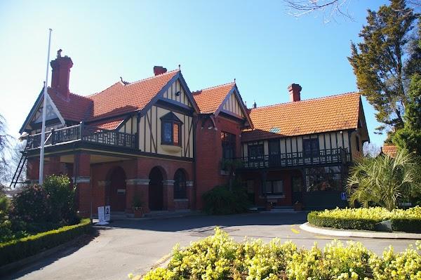Popular tourist site Mona Vale in Christchurch