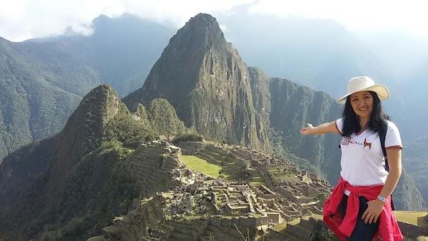 Popular tourist site Machu Picchu Peru in Cusco