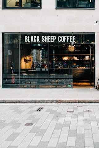 Black Sheep Coffee banner backdrop