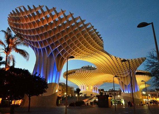 Popular tourist site Las Setas De Sevilla in Seville