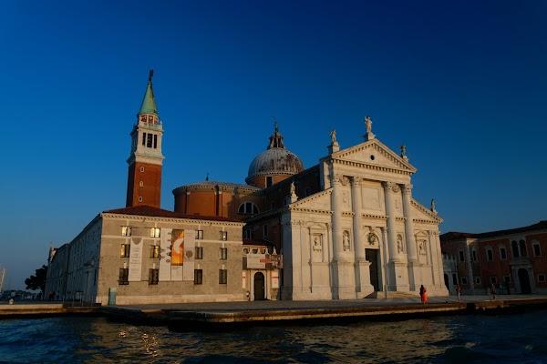 Popular tourist site Church of San Giorgio Maggiore in Venice