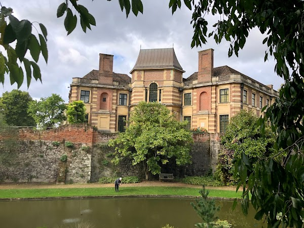 Popular tourist site Eltham Palace in London