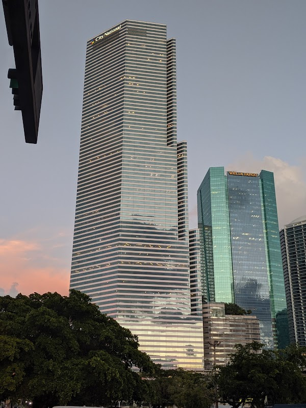 Popular tourist site Miami Tower in Miami