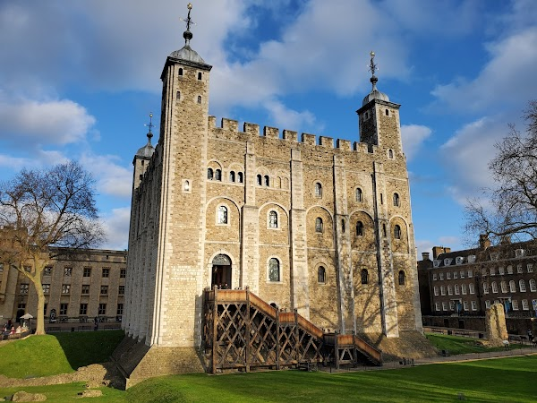 Popular tourist site Tower of London in London