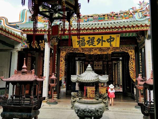 Popular tourist site Bà Thiên Hậu Pagoda in Ho Chi Minh City