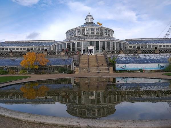 Popular tourist site Botanical Garden in Copenhagen
