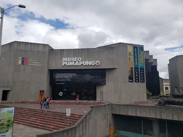 Popular tourist site Museo Pumapungo in Cuenca