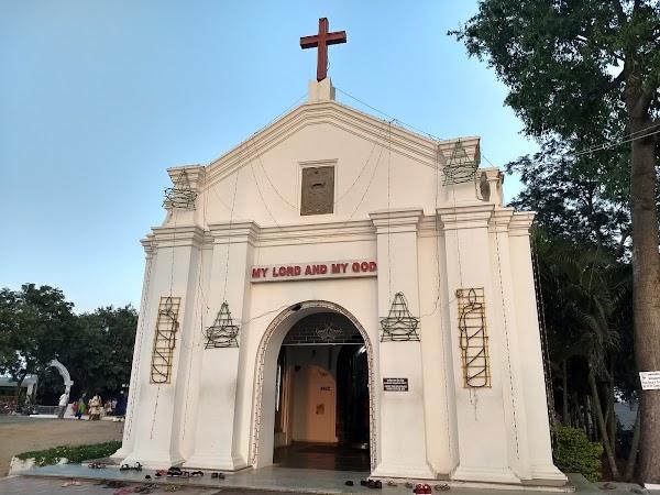 Popular tourist site St. Thomas Mount National Shrine in Chennai