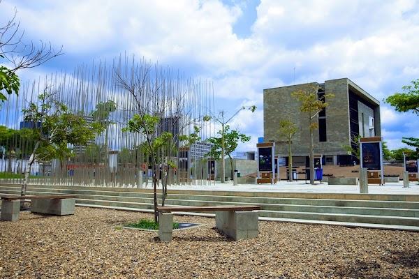 Popular tourist site Caribbean Museum in Barranquilla