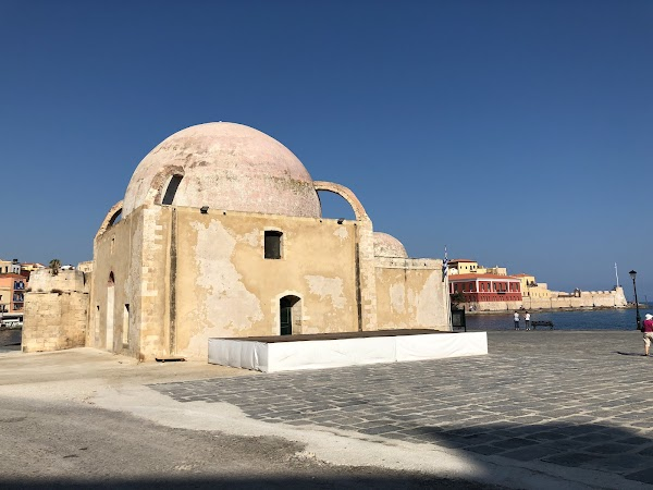 Popular tourist site Mosque Küçük Hasan مسجد in Chania