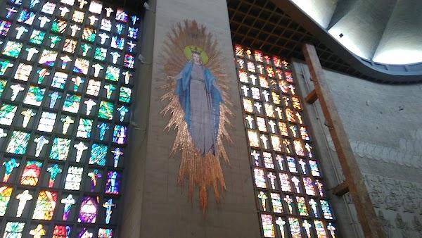 Popular tourist site Catedral Metropolitana María Reina in Barranquilla