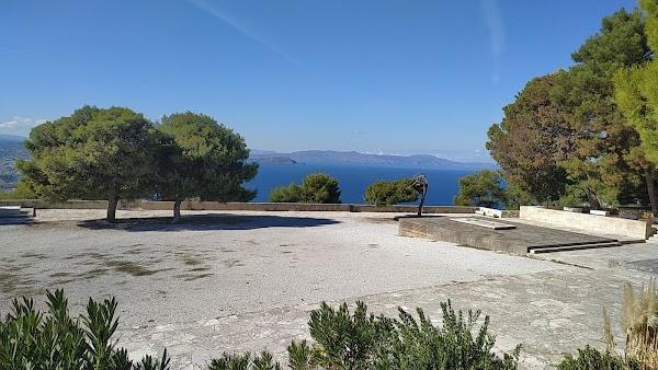 Popular tourist site Venizelos Graves in Chania