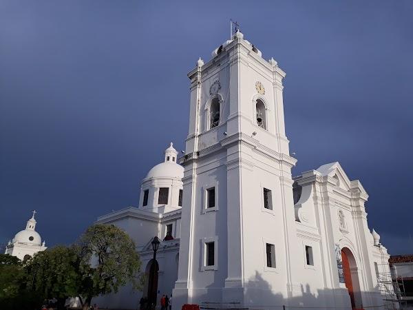 Popular tourist site Cathedral Basilica of Santa Marta in Santa Marta