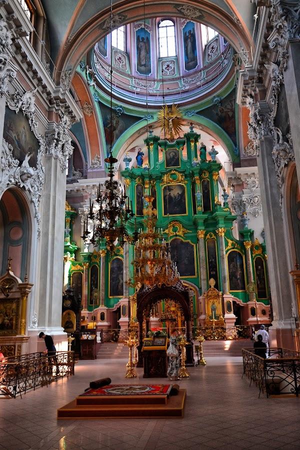 Popular tourist site Orthodox Church of the Holy Spirit, Viln in Vilnius