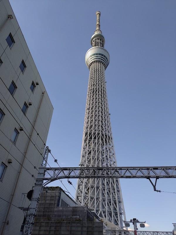 Popular tourist site Tokyo Skytree in Tokyo