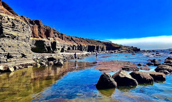 Popular tourist site Point Loma Tide Pools in San Diego