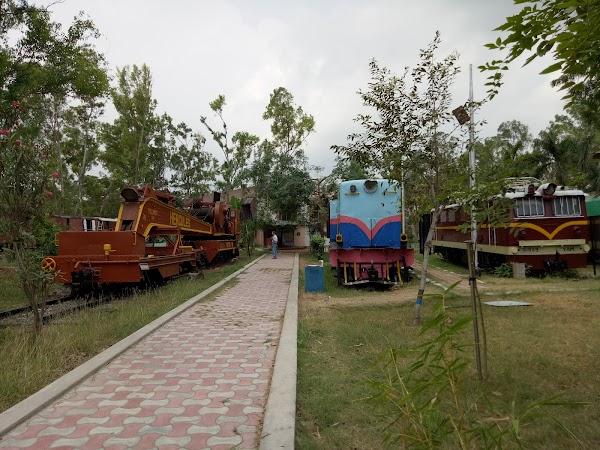 Popular tourist site Chennai Rail Museum in Chennai