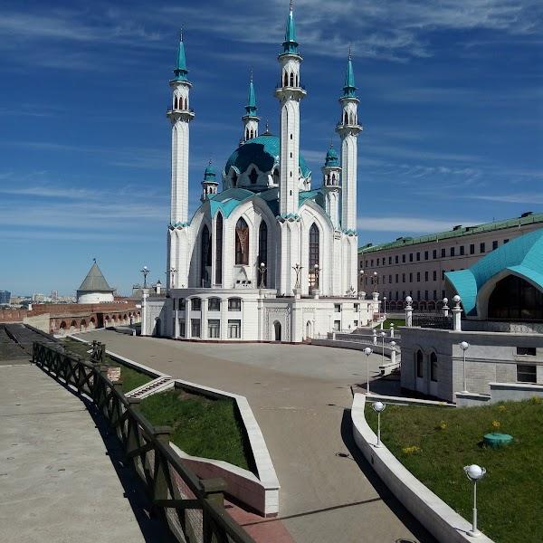 Popular tourist site Kazan Hermitage in Kazan