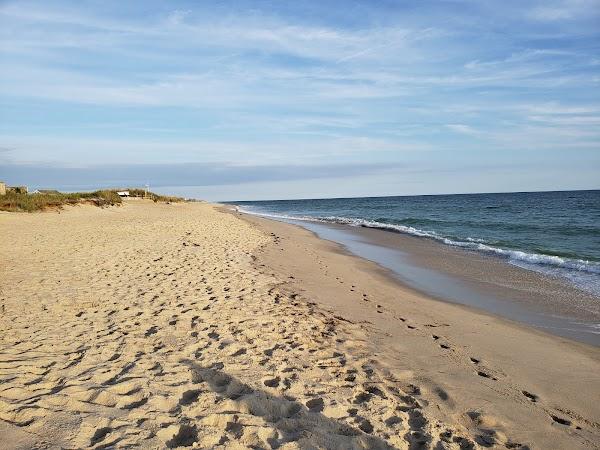 Popular tourist site Madaket Beach in Nantucket