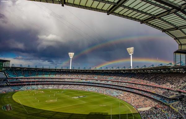 Popular tourist site Melbourne Cricket Ground in Melbourne