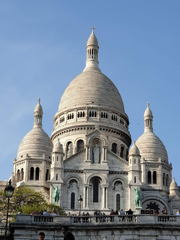 Popular tourist site Sacré-Cœur in Paris